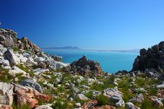 False Bay, Cape Town, South Africa royalty free stock photo