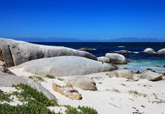 False Bay's Boulders Beach in Simon's Town Royalty Free Stock Image