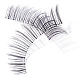 False black lashes Royalty Free Stock Photography