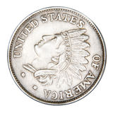 False coin Royalty Free Stock Images