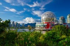 False Creek在温哥华,不列颠哥伦比亚省 免版税库存图片