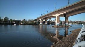 False Creek皮船4K UHD 股票视频