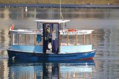 False Creek färjakapten Royaltyfria Bilder