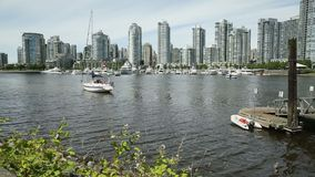 False Creek Ferries and Luxury Yachts stock video