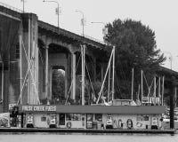 False Creek Fuels, Vancouver, BC Royalty Free Stock Photos