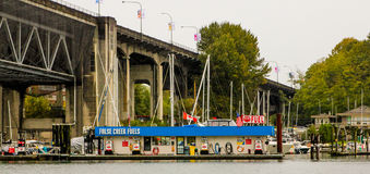 False Creek Fuels, Vancouver, BC Stock Photos