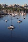 False Creek Marina, Vancouver Royalty Free Stock Photo