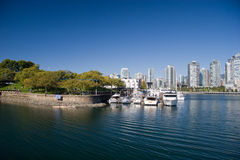 False Creek near Granville Island, Vancouver, BC Stock Image