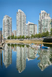False Creek Paddling, Vancouver Stock Images