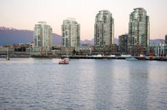 False Creek, Vancouver Royalty Free Stock Photo