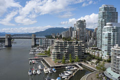 False Creek Vancouver stock photos