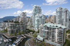 False Creek Vancouver Stock Image
