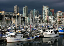 False Creek in Vancouver Stock Image