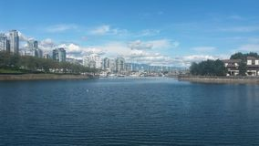 False Creek, Vancouver, Kanada Stockfoto