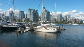 False Creek, Vancouver, Kanada Stockbild