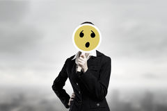 False emotions Stock Photography