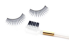 False eyelash brush Royalty Free Stock Photos