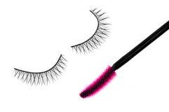 False eyelash and mascara Royalty Free Stock Photo