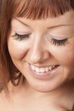 False eyelashes royalty free stock photography