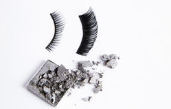 False eyelashes Stock Photos
