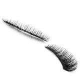 False eyelashes, black false eyelashes Royalty Free Stock Images