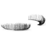 False eyelashes, black false eyelashes Stock Photo