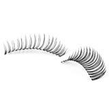 False eyelashes, black false eyelashes Royalty Free Stock Image
