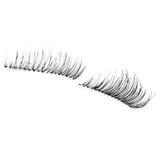 False eyelashes, black false eyelashes Stock Image