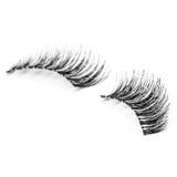False eyelashes, black false eyelashes Royalty Free Stock Photo