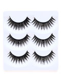 False eyelashes. Isolated on white background Stock Photos