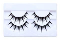 False eyelashes Stock Photography