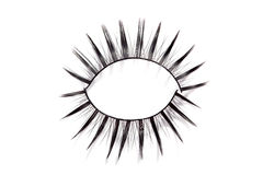 False eyelashes Stock Photography
