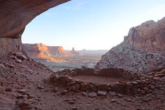 False kiva. Anasazi ruin false kiva royalty free stock photo