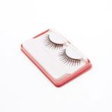 False lashes isolated on white. Background Royalty Free Stock Photography