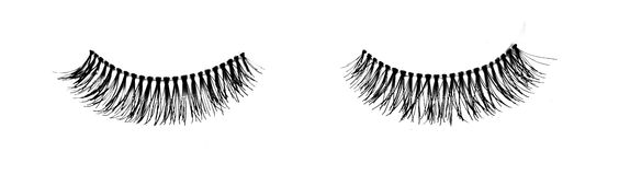 False lashes, isolated on white Stock Photo