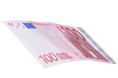 False money. Hundred euro banknote false money Royalty Free Stock Photo