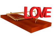 False promise of love Royalty Free Stock Images