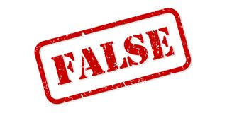 Free False Rubber Stamp Vector Stock Photos - 151086523