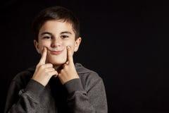 False smiley face Stock Photos