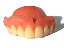 False Teeth Royalty Free Stock Photography