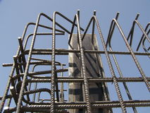 Falsework da construção Foto de Stock Royalty Free