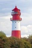 Falshöft lighthouse Stock Image