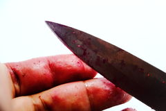 Falsificación del moc-up de la escena del crimen Fotos de archivo libres de regalías