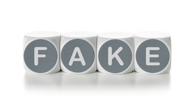 falsificazione fotografie stock libere da diritti