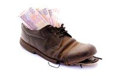 Falsificazione di povertà Immagine Stock