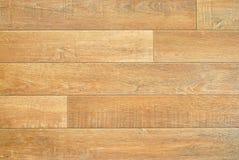 Falsifique el suelo de madera Imagen de archivo libre de regalías