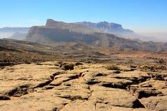 Falsità di Jabel, Oman Immagine Stock