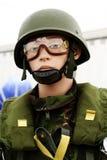 falsk fallskärmsjägare Royaltyfria Bilder