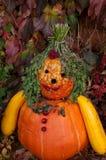 falsk halloween pumpa Royaltyfri Foto