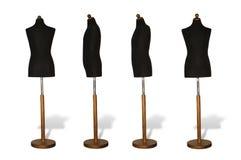 falsk tillverkare s för klänning Arkivbilder